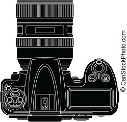 Camera - layered vector illustraion of Camera.