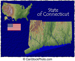 Connecticut, USA hi res aerial - Hi res aerial view of...