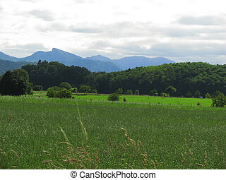 Comminges Landscape - South of France Comminges, Haute...