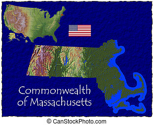 Massachusetts, USA hi res aerial - Hi res aerial view of...