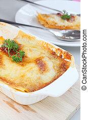 lasagna  - Italian lasagna