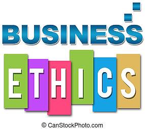 Business Ethics Professional Colour