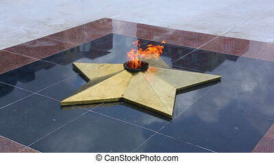 Eternal Flame - Eternal flame - memorial of Great Patriotic...
