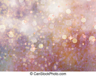 Defocused beidge lights glitter EPS 10 - Abstract background...