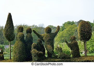 topiary - Formal garden topiary