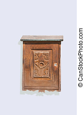 wooden letter box
