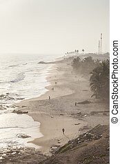 Cape Coast Beach, Ghana, West Africa