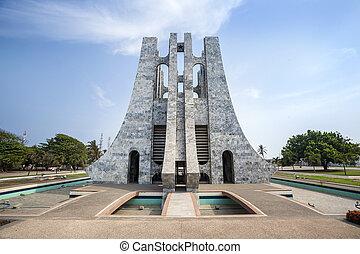 Nkrumah Memorial Park, Accra, Ghana - Nkrumah Memorial Park...
