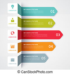 Modern Minimalistic infographics banner - Modern...
