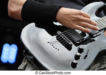 Guitarist - Rock guitarist
