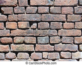 Background of a brisk wall - This picture is taken in day...