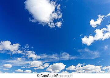 藍色, 天空