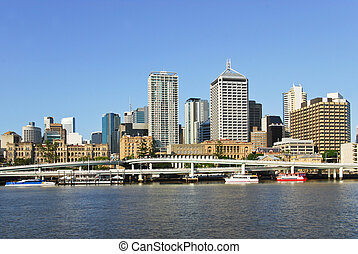 Brisbane central business district - Brisbane, the third...