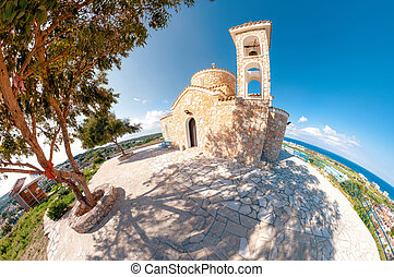 Church Profitis Ilias. Protaras, Cyprus