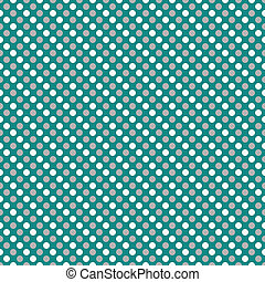 Gray and White Small Polka Dot Pattern Repeat Background