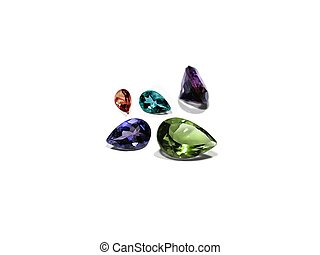 Gemstones gem stones jewelry rocks - Clear transparent...
