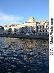 View of Fontanka River, St.Petersburg. - View of Fontanka...