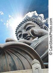 Giant Buddha. Hong Kong