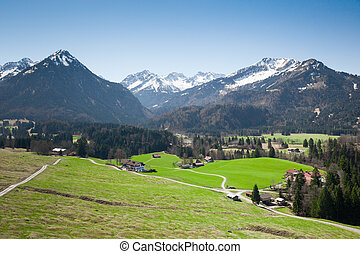 Garmisch Partenkirchen Alps - An image of the beautiful alps...