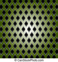 green Colour Abstract metal background raster copy
