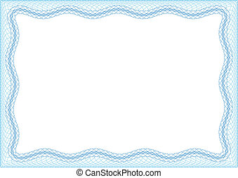Blank frame for invitation or diploma