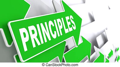 Principles on Green Direction Arrow Sign. - Principles on...