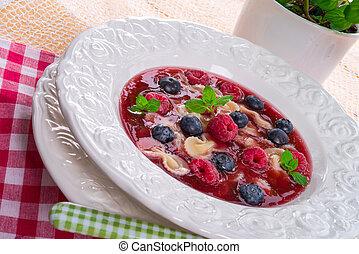 cold fruit soup