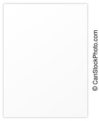 blank sheet paper - blank sheet of paper with empty...