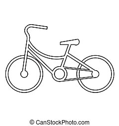bicycle symbol design vector - image of bicycle symbol...