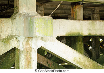 Concrete pier supports, Bournemouth - Strong concrete...