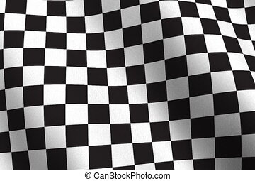 Checker flags NTSC seamless - Highly detailed checkered...
