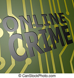 PCB Board with online crime