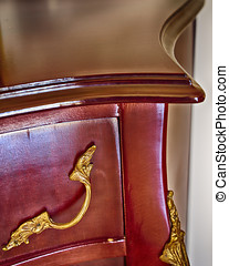 solid wood furniture detail