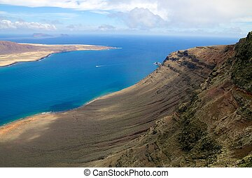 Lanzarote Mirador del Rio View 004 - Amazing view on the...