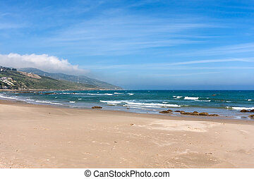 Atlantic ocean - in northern Morocco, the atlantic ocean...