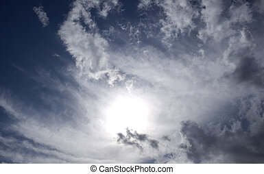 Clouds - stormy sky with dramatic clouds