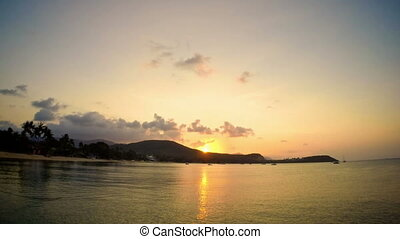 Sunset on Samui