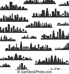 City a background