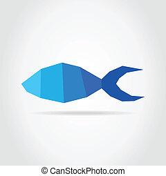 Fish blue