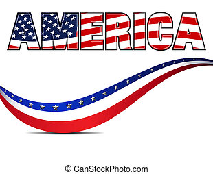 Stars & Stripes American Background - AMERICA Stars and...