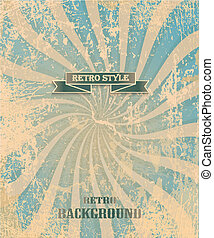 Vintage background with old tape
