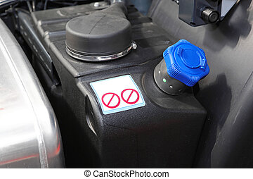 Diesel exhaust fluid additive for trucks