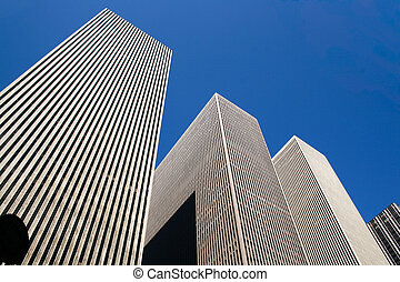 Skyscrapper - The Rockefeller Buildings in New York City