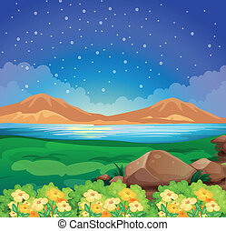 A view of the environment - Illustration of a view of the...