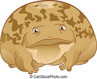 Cartoon Toad