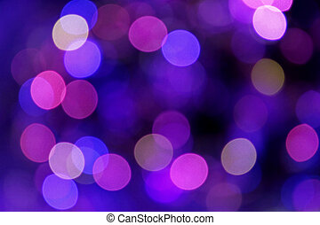 Festive blue and purple background with boke - Abstract...