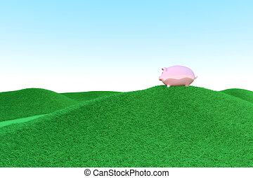 Piggy bank ecology