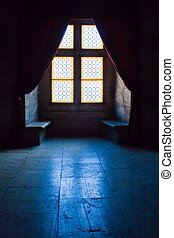 Windows and Light 4 - Detail from the Corvins Castle, XV...