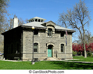 1871 Historic Building - Boise - During 1871 the Assay...