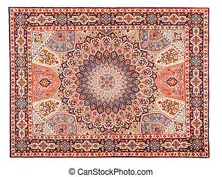 Asian Carpet Texture Classic Arabic Pattern